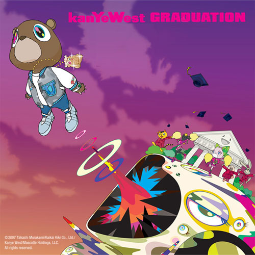 kanye west graduation album cover art. Related album art. Kanye West