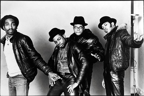 Larry Smith with Run DMC