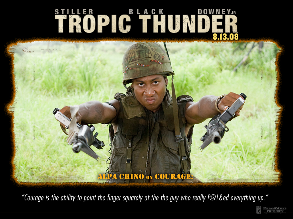 phony rappers  alpa chino from  u0026quot tropic thunder u0026quot